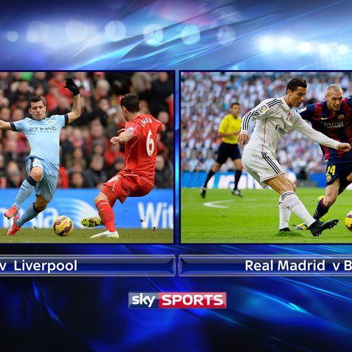 Sky Sports split screen