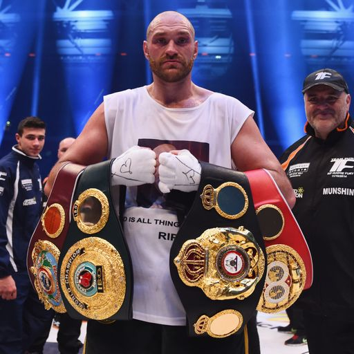 Fury stripped of IBF title