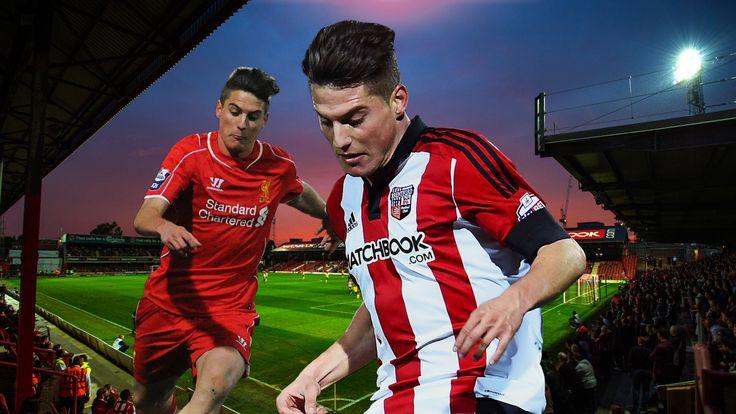 Liverpool winger Sergi Canos is impressing on loan at Brentford
