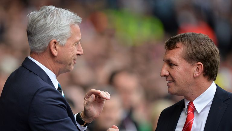Crystal Palace manager Alan Pardew felt Liverpool would have finished in the top four under Brendan Rodgers this season