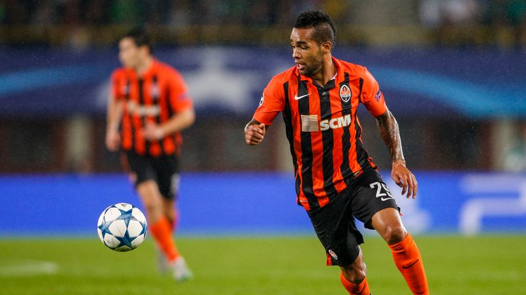 Alex Teixeira of Donetsk