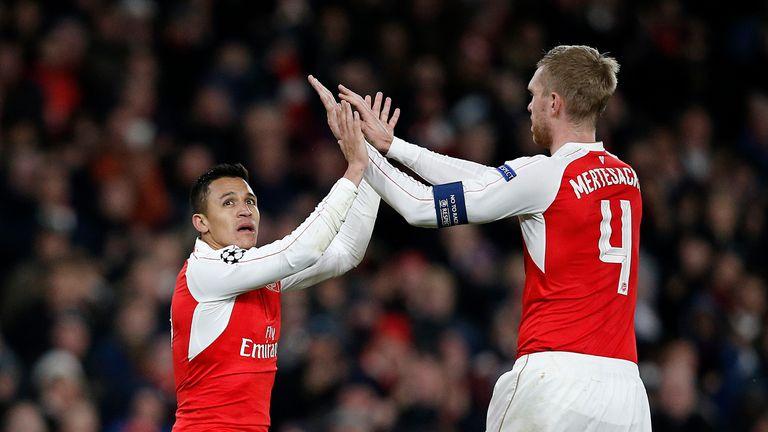Alexis Sanchez scored twice as Arsenal beat Dinamo Zagreb 3-0 at the Emirates