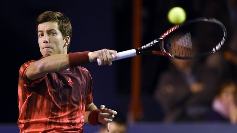 Britain's Aljaz Bedene will not play any part in the Davis Cup final