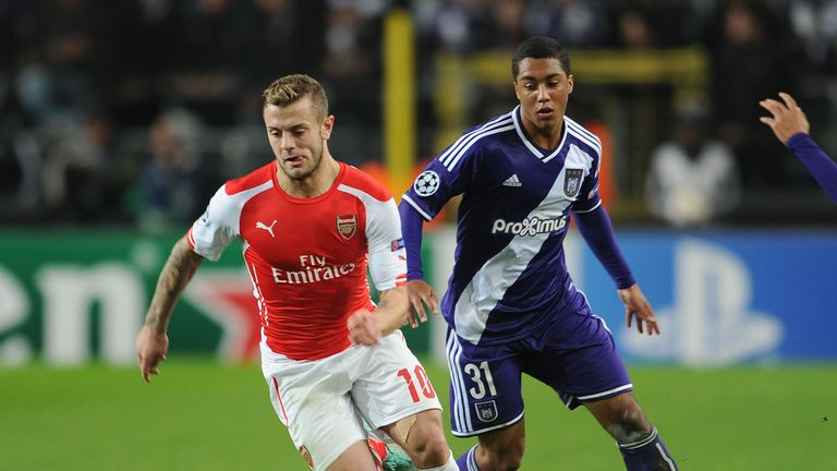 Tielemans also played against Arsenal in the Champions League in 2014