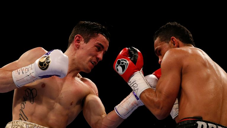 Anthony Crolla set up the knockdown with a classic combination