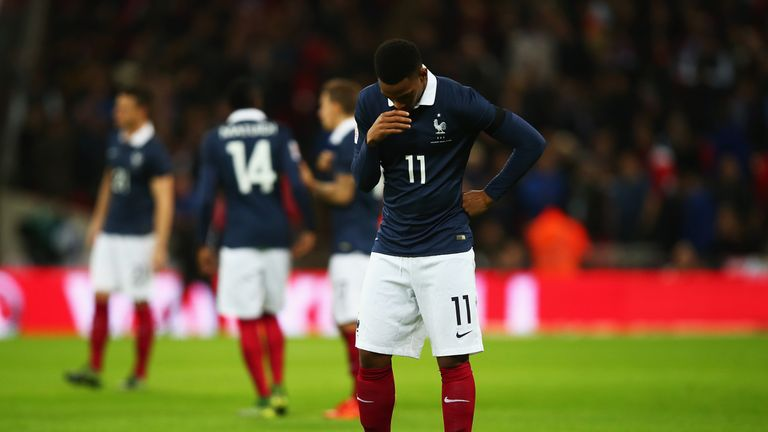 Anthony Martial during England and France at Wembley Stadium on November 17, 2015 in London, England