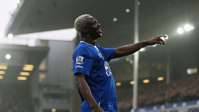 Arouna Kone triggered a contract extension by playing his 35th game for Everton