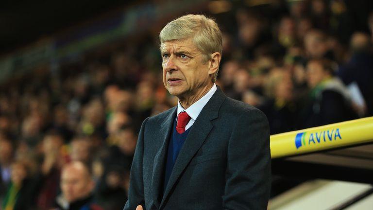 Arsene Wenger manager of Arsenal