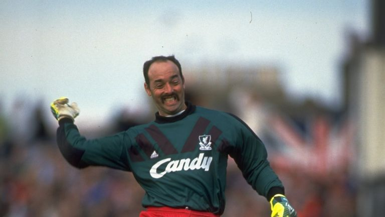 Bruce Grobbelaar played for Liverpool for 13 years