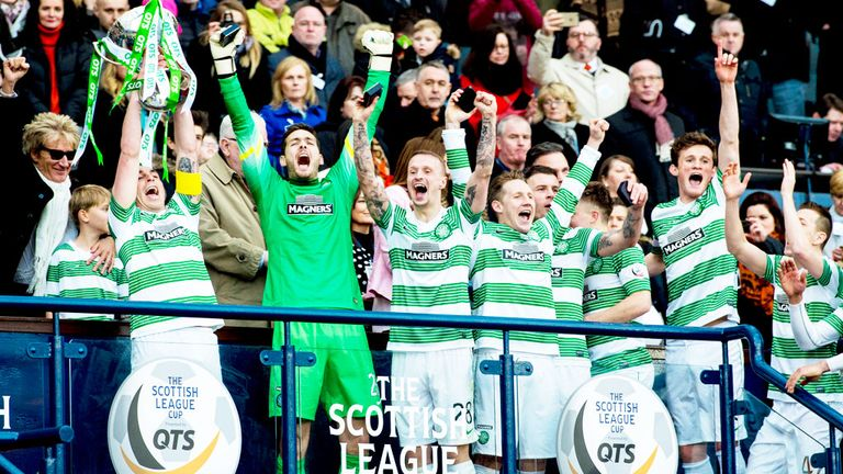 Celtic won last season's League Cup with a victory over Dundee United