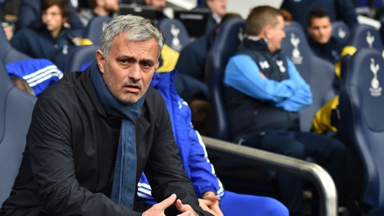 Chelsea manager Jose Mourinho will hoping for a result against Tottenham, with his team rooted in the bottom half of the table on 14 points