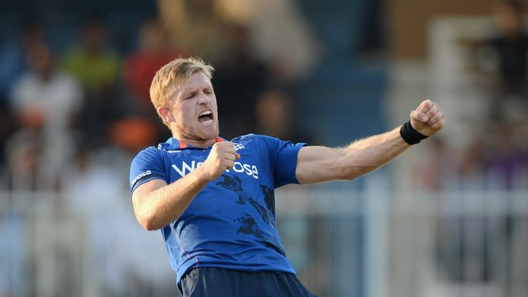David Willey has had an impressive first 12 months in the England one-day team