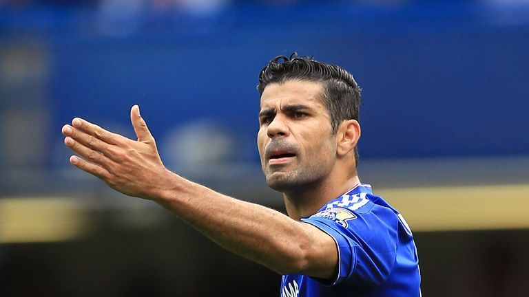 Diego Costa, Chelsea v Crystal Palace, August 2015
