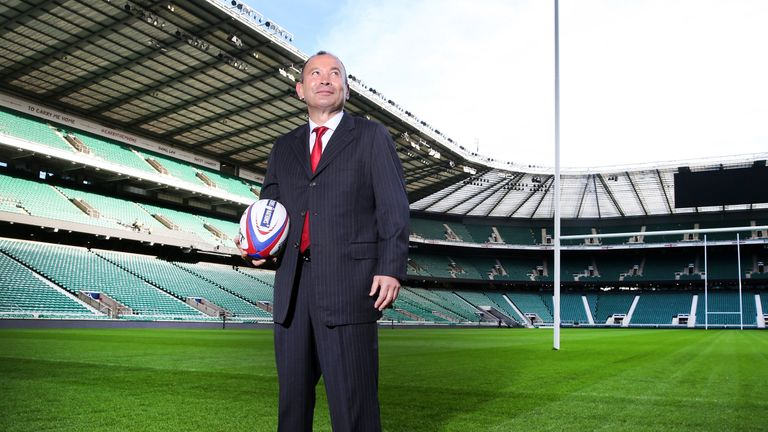 Jones was confirmed as the new England head coach in November