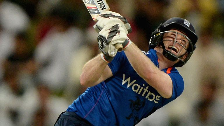 England captain Eoin Morgan has led from the front