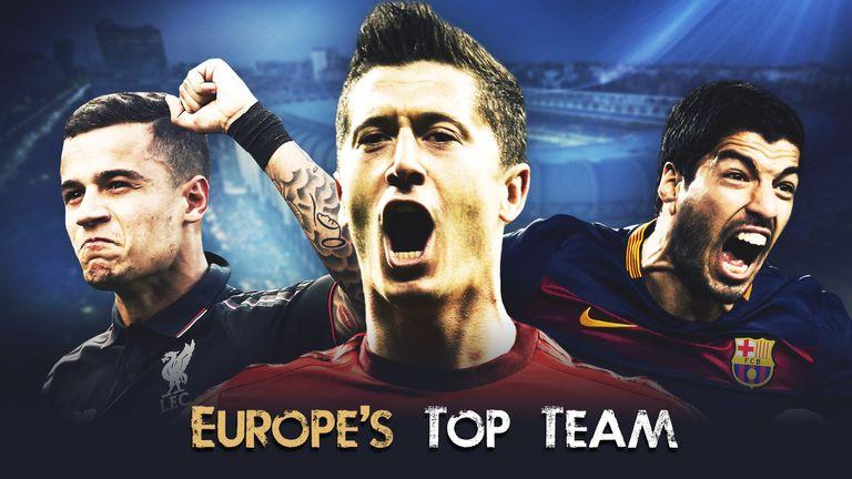 Europe's top team