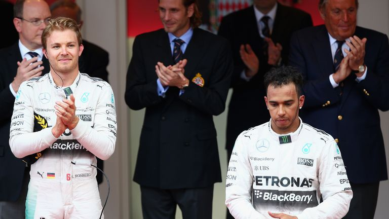 That sinking feeling: Lewis Hamilton fails to hide his disappointment after being denied victory in Monaco - Picture by Paul Gilham, Getty Images