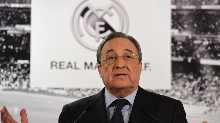 Florentino Perez reportedly criticised the Real Madrid squad after their defeat to Ajax