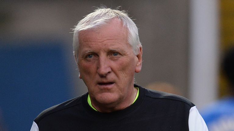 Ronnie Moore was sacked following a poor run of results