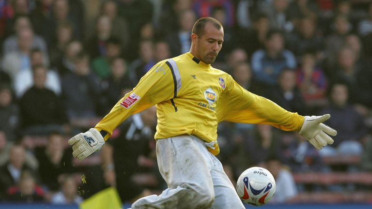 Gabor Kiraly has been famed for wearing tracksuit bottoms