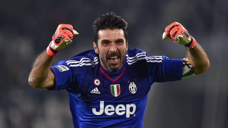 Gianluigi Buffon has made 551 appearances for Juventus