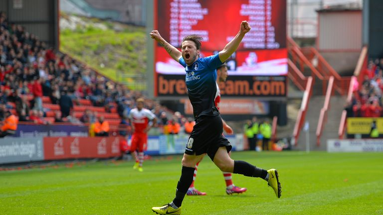 Harry Arter has enjoyed a remarkable rise to the top