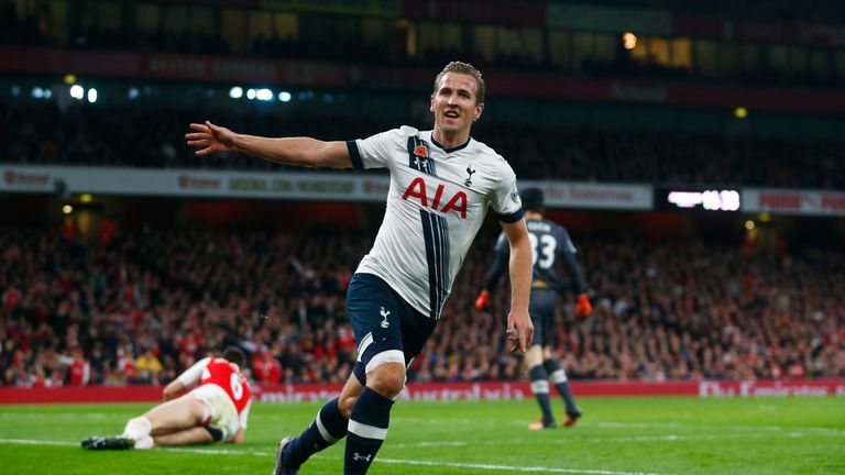 Harry Kane scored his sixth goal in four games to open the scoring on 32 minutes