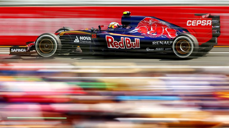 A dash of colour: The performances of both Carlos Sainz and Max Verstappen were highlights of the season - Picture by Robert Cianflone, Getty Images