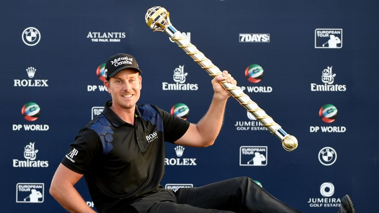 Stenson is without a win since successfully defending his DP World Tour Championship title last year