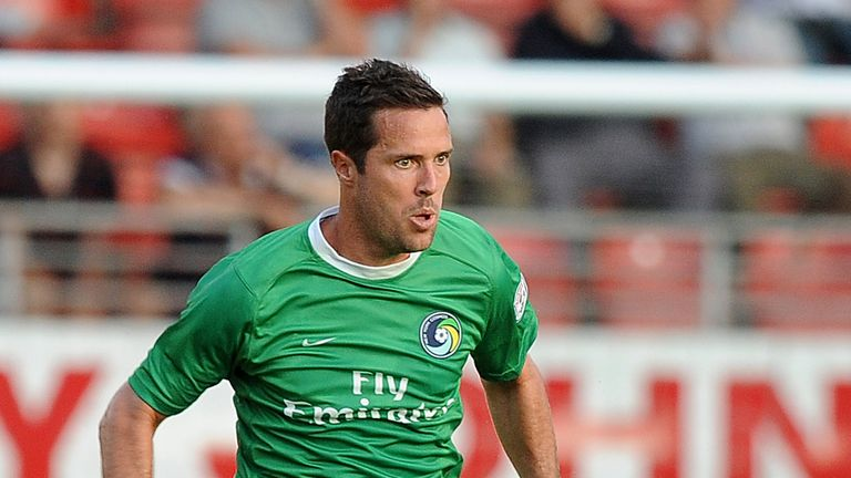 Hunter Freeman of New York Cosmos during the pre season friendly match between Leyton Orient and New York Cosmos