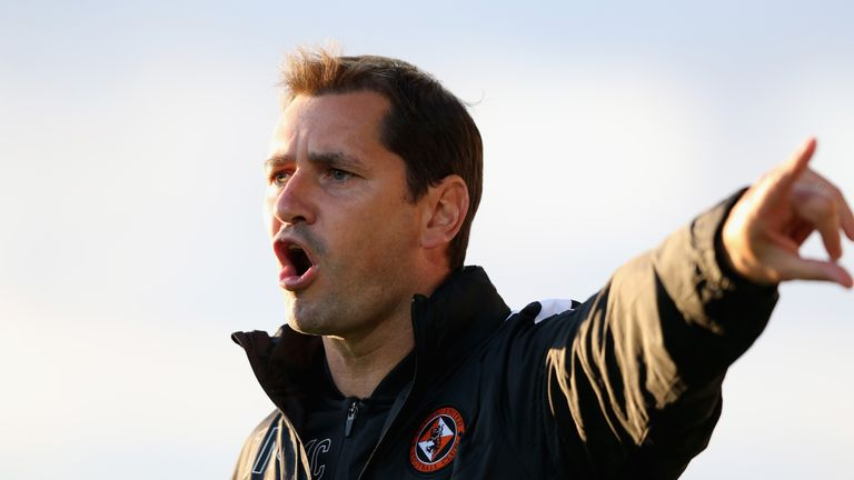 Pointing the way: Jackie McNamara will be hoping to arrest York's poor form
