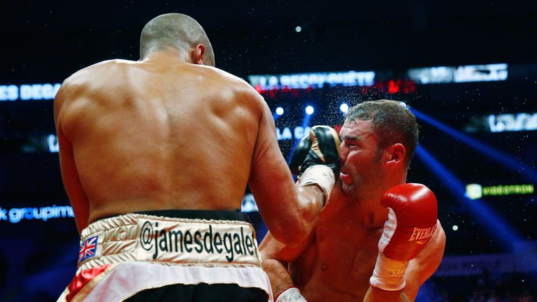 DeGale was outworked by Bute at times in Quebec but landed the more telling shots