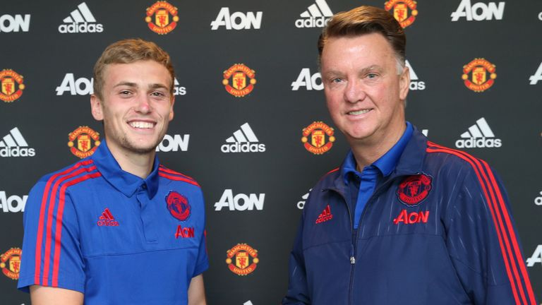 Wilson signed a five-year contract extension with United but has played only twice for them this season