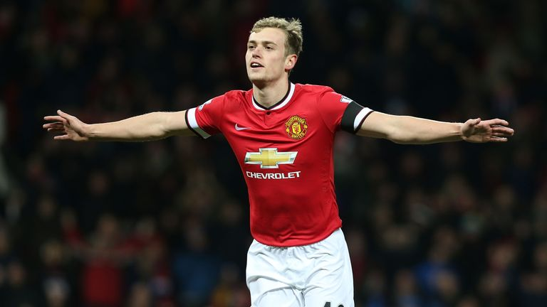 Manchester United's James Wilson has joined Sheffield United on loan until the end of the season