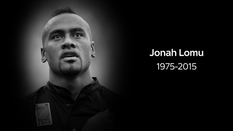 New Zealand rugby union great Jonah Lomu has died at the age of 40