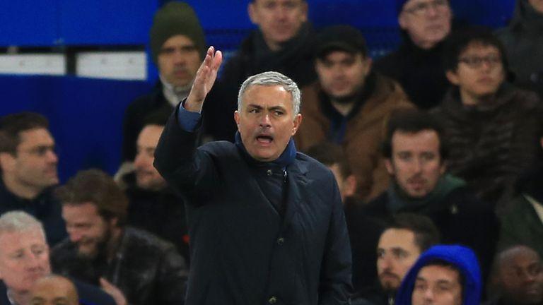 Jose Mourinho, Chelsea v Norwich, Premier League