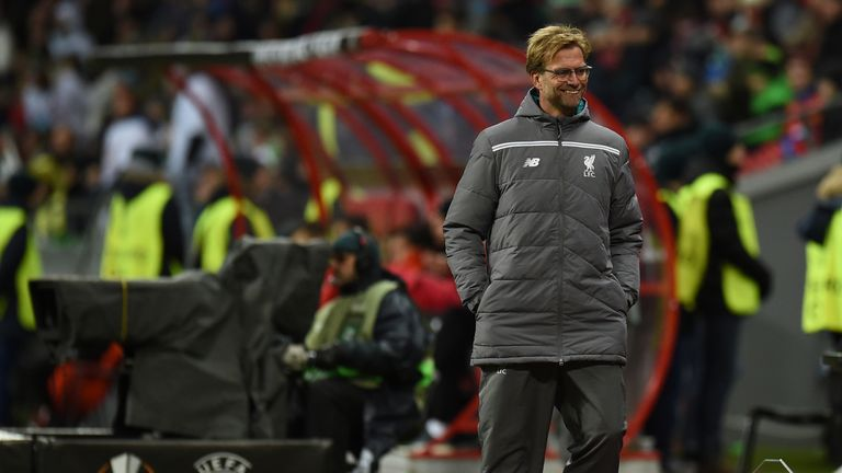Jurgen Klopp needs just a point for his Liverpool side to top Group B