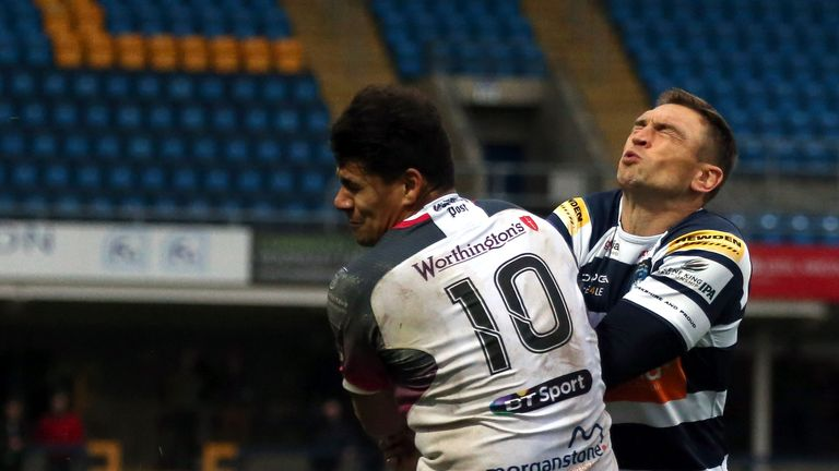 Younger brother Joel Matavesi will also join the Falcons for next season