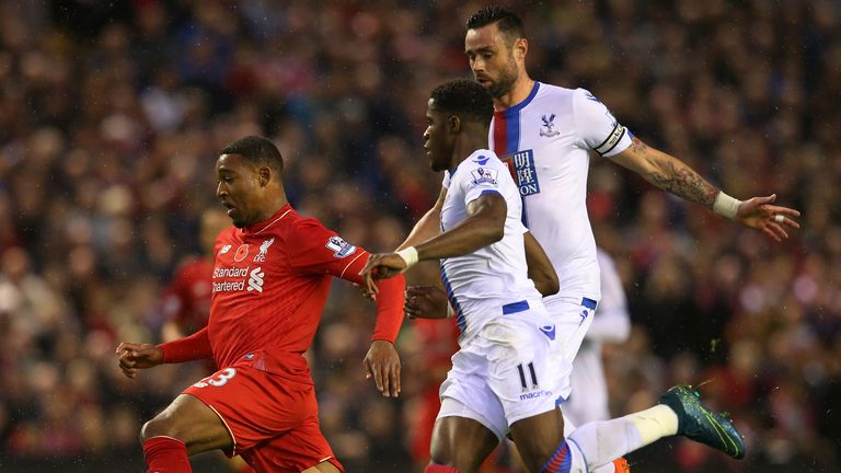 Jordon Ibe was a constant threat on the counter to Palace
