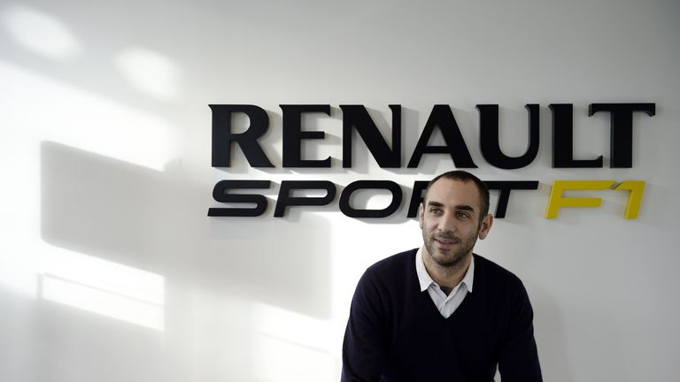 Cyril Abiteboul heads up Renault's engine programme