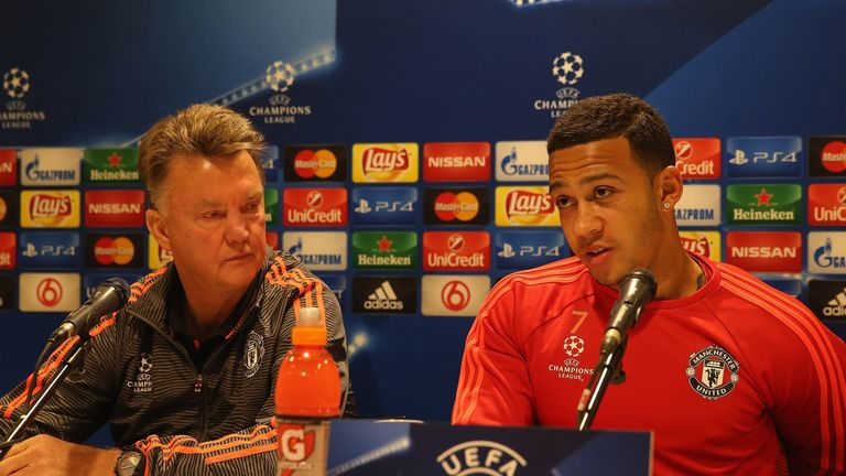Louis van Gaal signed Depay from PSV Eindhoven in the summer
