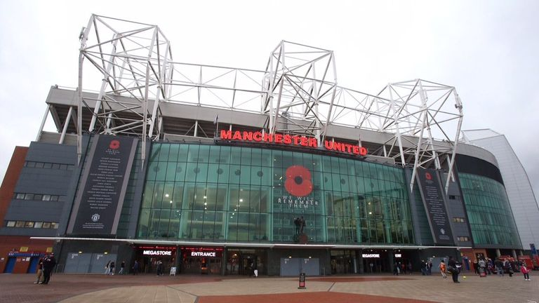 Manchester United posted this picture of Old Trafford at 11am