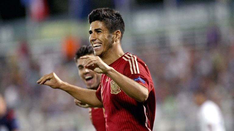 Marco Asensio starred for Spain's U19s at the European Championship