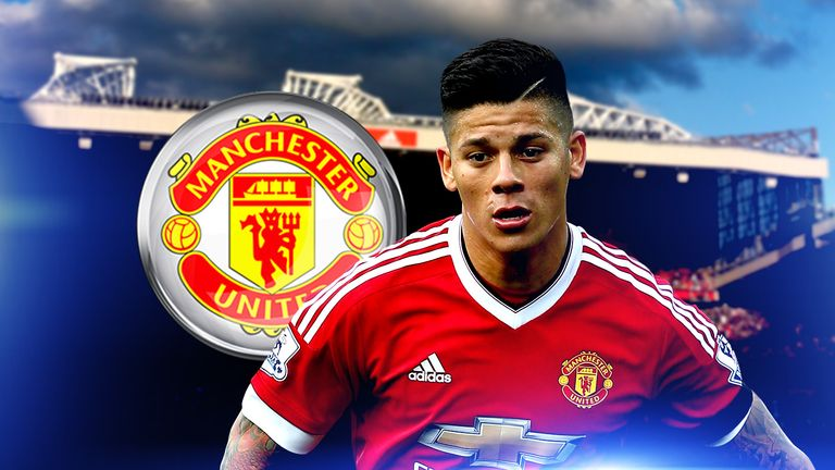 Marcos Rojo has impressed at left-back for Manchester United