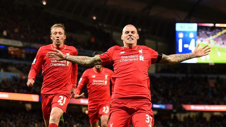 Liverpool's Martin Skrtel celebrates