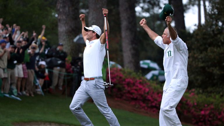 The last time there was a play-off in the Masters, Adam Scott held off Angel Cabrera to win in 2013