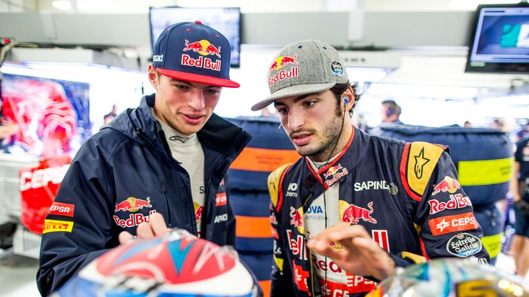 Max Verstappen and Carlos Sainz have made big impressions in their short F1 careers