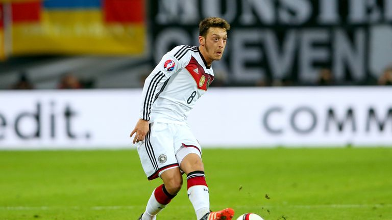 Arsenal's Mesut Ozil has been left out of the Germany squad for their friendly matches this month
