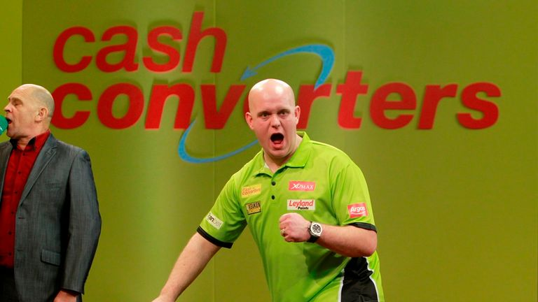 Van Gerwen wins his fourth straight tournament