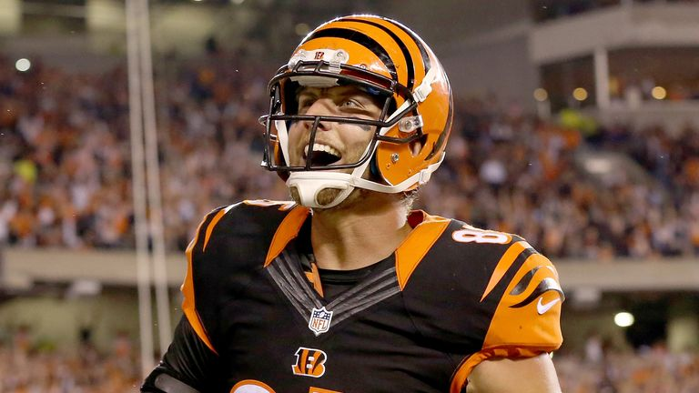 Tyler Eifert is returning to the Cincinnati Bengals